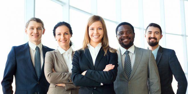 Bild Geschäftsleute in Anzug
