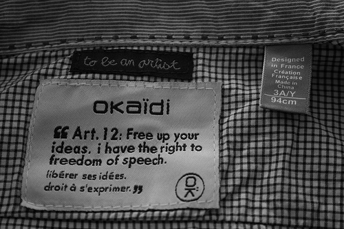 Giftige Kleidung
