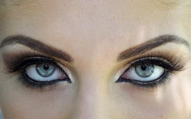 Augen richtig betonen