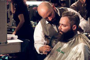 Besuch beim Barbier