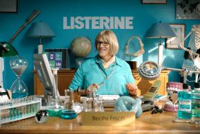 Mit neuer Listerine Kampagne wird Mundhygiene zum frischen Thema!