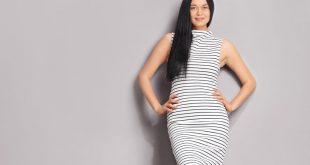 Trend schwarz weiße Kleider