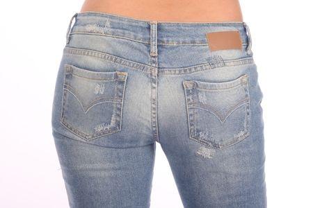 Jeans Taschen für einen schönen Po