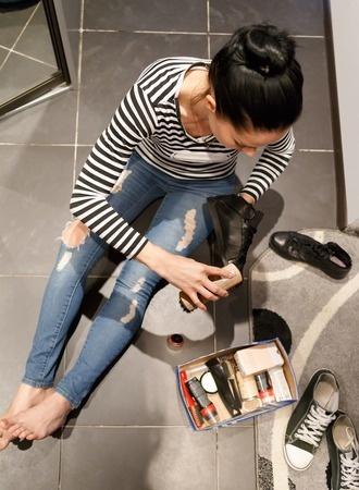Schuhe pflegen