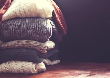 die richtige Pflege für Wollpullover