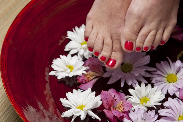 Bild gepflegte Füße