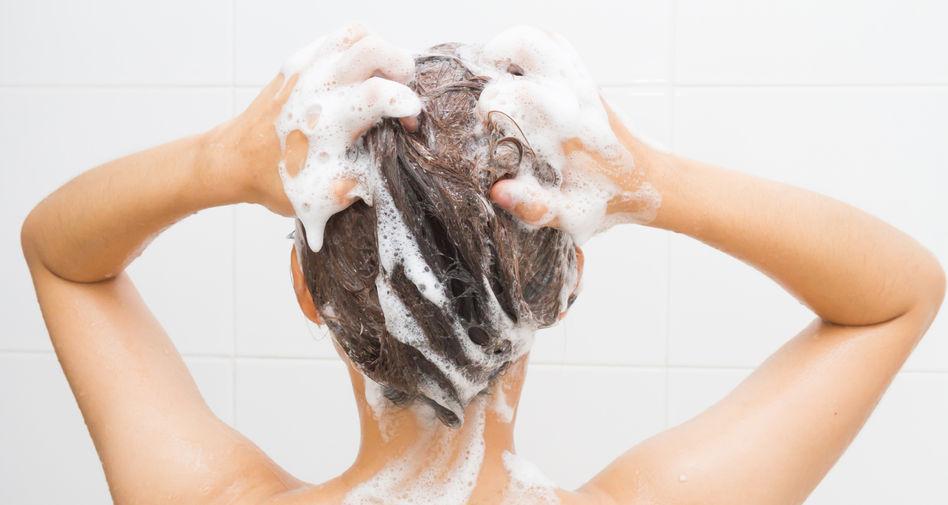 Haarwäsche