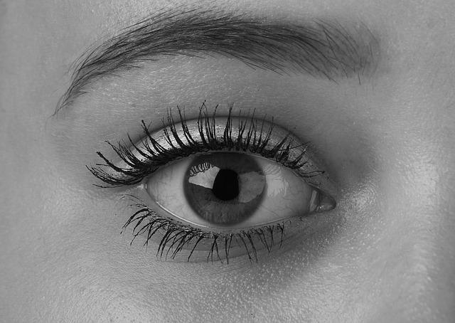 natürliches Augen Make up