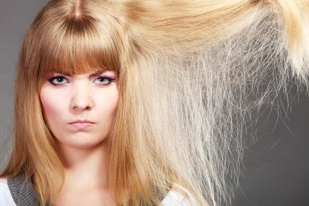 Haare mit Spliss